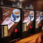 Máquina Vending Ideacaffè com Grãos