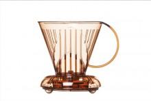 Clever - Suporte p/ Filtrar Café - Transp. - 500ml (4 xícaras)